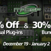 McDSP Holiday SALE - 50% Off Individual Plug-Ins and 30% Off Bundles!