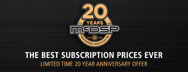 20 Year Subscription Sale